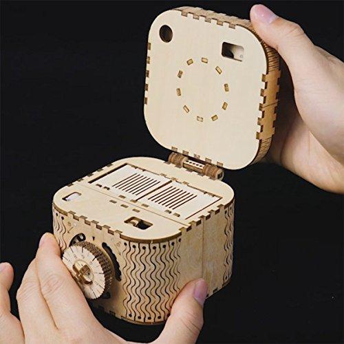 ROKR 3D Wooden Puzzle-Model Building Kits-DIY Assembled