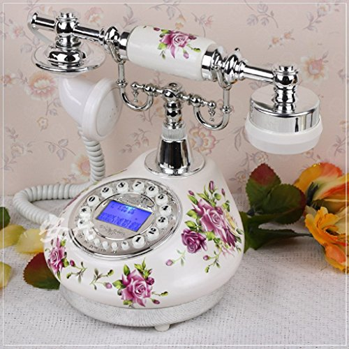 Wired telephone garden setting answer machine home bedroo...