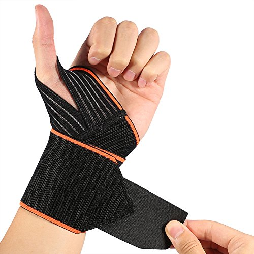 Wrist Wraps with Wider Thumb Loops, Adjustable ...