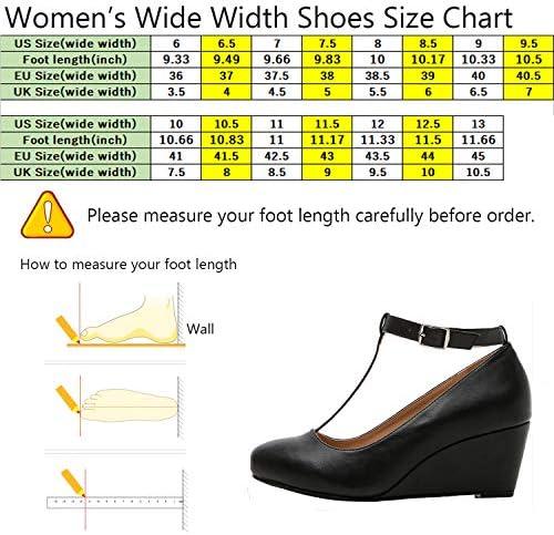 Amazon.com: Luoika Mary Jane - Zapatos de tacón para mujer ...