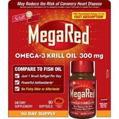 Schiff MegaRed Omega-3 Huile de Krill 300 mg - 90 gélules