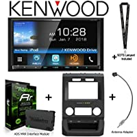 Kenwood Excelon DDX795 6.95 DVD Receiver iDatalink KIT-FTR1 Factory System Adapter for select Ford pickups, ADS-MRR Interface Module and BAA22 Antenna Adapter and a SOTS Lanyard
