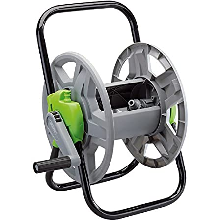 garden hose reel cart. draper gwhr garden hose reel cart, multi-colour, 45 m cart c