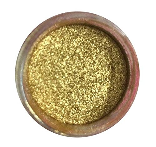 Paint Pendants Finish - GOLD HIGHLIGHTER DUST (7 GRAMS) (7 grams Net. container) by Oh! Sweet Art Corp