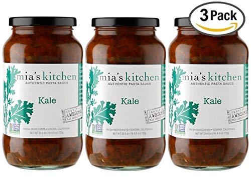 Mia's Kitchen Kale Pasta Sauce 3- Pack