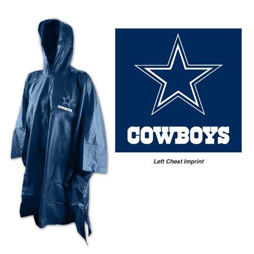 Isotoner NFL Dallas Cowboys Rain Poncho