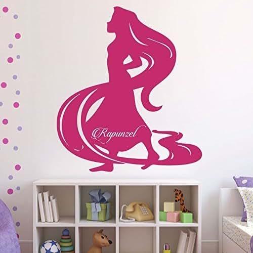 Amazon Com Tangled Princess Rapunzel Vinyl Wall Decals