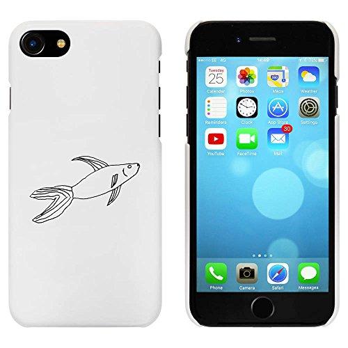 Blanc 'Natation Poisson' étui / housse pour iPhone 7 (MC00076300)