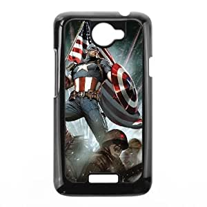 Captain America HTC One X Cell Phone Case Black g1875998