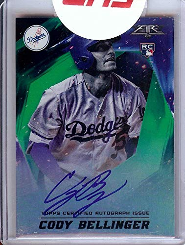 Cody Bellinger 2017 Topps Fire RC Rookie Auto Autograph Dodgers #FA-CB 33/75 ()