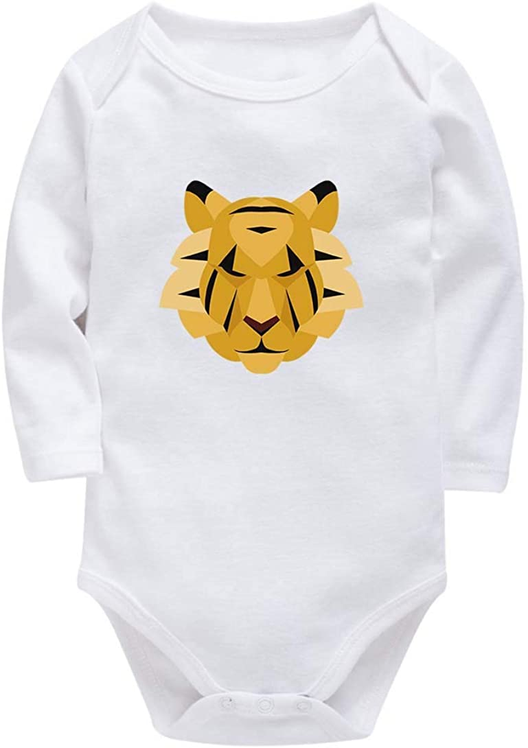 I Love My Cat Paw Long Sleeve Newborn Baby Romper Jumpsuit Onsies for 6-24 Months Bodysuit