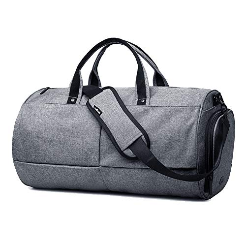 KEYNEW Gym Duffel Bag for Men Medium Sports Bag with Air Vent Shoes  Compartment Waterproof - 725a7deb2b