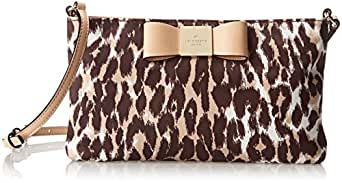 kate spade new york Veranda Place Nylon Maree Cross Body Bag,Leopard,One Size