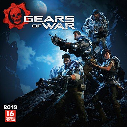 Gears of War 2019 Wall Calendar (Best Gaming Gear 2019)