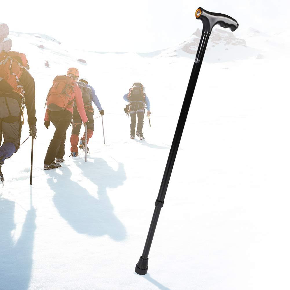 Caminar liviano Tihebeyan Bastones de Trekking para Caminar telesc/ópico Acampar Ultraligero para Excursionismo bast/ón para Caminar Senderismo aleaci/ón de Aluminio monta/ñismo Antideslizante