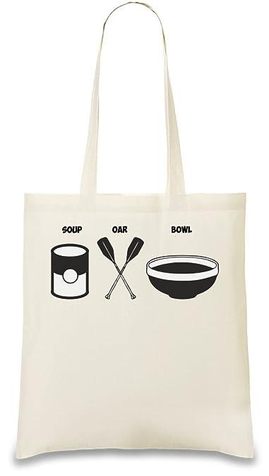Amazon.com: tazón sopa remos personalizado impreso bolsa bag ...