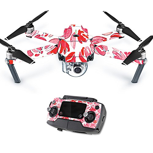 MightySkins Skin for DJI Mavic – Red Petals | Protective, Durable, and Unique Vinyl Decal wrap Cover | Easy to Apply, Remove, and Change Styles | Made in The USA For Sale
