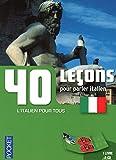 Coffret 40 leçons pour parler italien (livre + 2CD)