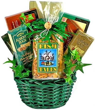 Image Unavailable. Image not available for. Color: Fish Tales | Fathers Day Gift Basket ...