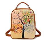 CM Star Fashion Backpack – Four Seasons Oil Painting, Bags Central