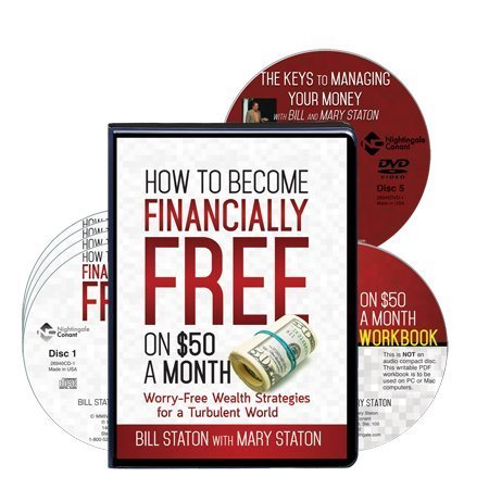 Read Online How to Become Financially Free on $50 a Month (4 CD's, 1 CD-Workbook, 1 DVD) ebook