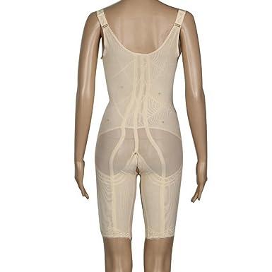 6adc6fc8c699d AVENBER Women Bodysuit Function Seamless Slimming Underwear Waist Trainer Body  Shaper at Amazon Women s Clothing store
