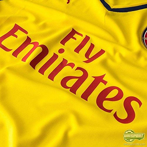 Alexis Arsenal # Pumas 17 Loin Jersey Jaune 2014/2015