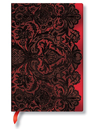Rouge Boudoir Mini Lined Journal (Lace Allure)