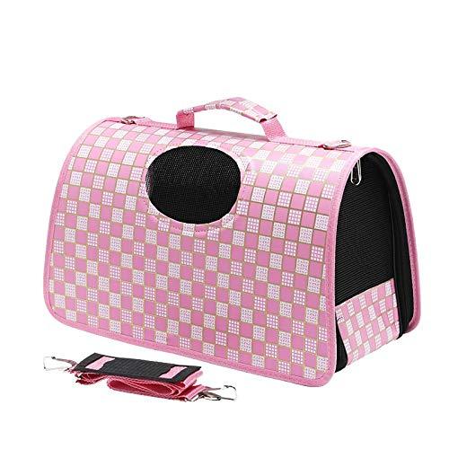 QKEMM Hundebox Transportbox Hundekäfig Pet Out Tragbare Tragbare Reisetasche mit Verschiedenen Größen und Farben