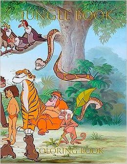 Amazon.com: Jungle Book Coloring Book: Coloring Book For ...