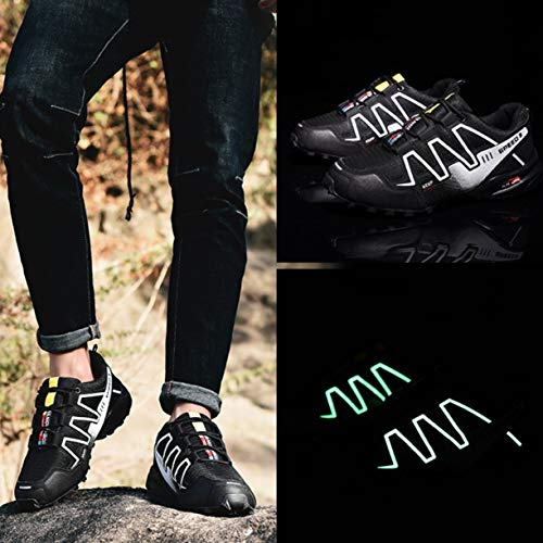 Plein Randonnée Air Alpinisme Pour Chaussures De Luminescentes Sport Sports Course Sneakers Hommes Mode Detectoy ​� Speed vB8xUU