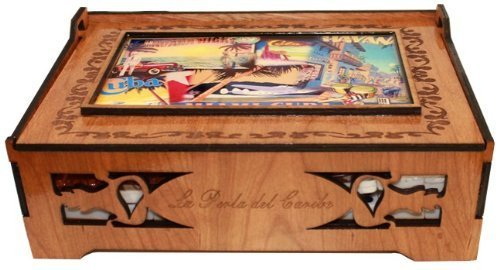 Amazon.com: Cuban Style Domino Deluxe Double Nine Set in a Beautifully carved wood box. Score Pad Included: Toys & Games