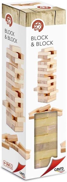Cayro - Block & Block Classic - Juego de observación y lógica - Juego de Mesa - Desarrollo de Habilidades cognitivas e inteligencias múltiples - Juego de Mesa (652): Amazon.es: Juguetes y juegos