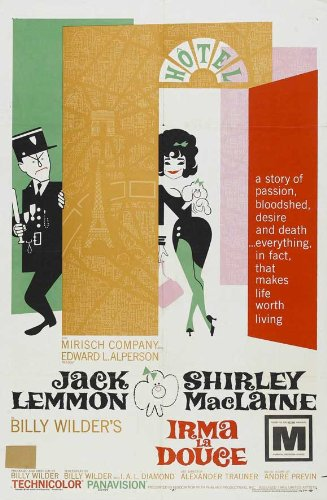 Image result for irma la douce movie poster amazon