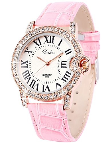 Pink Crystal Watch - 8