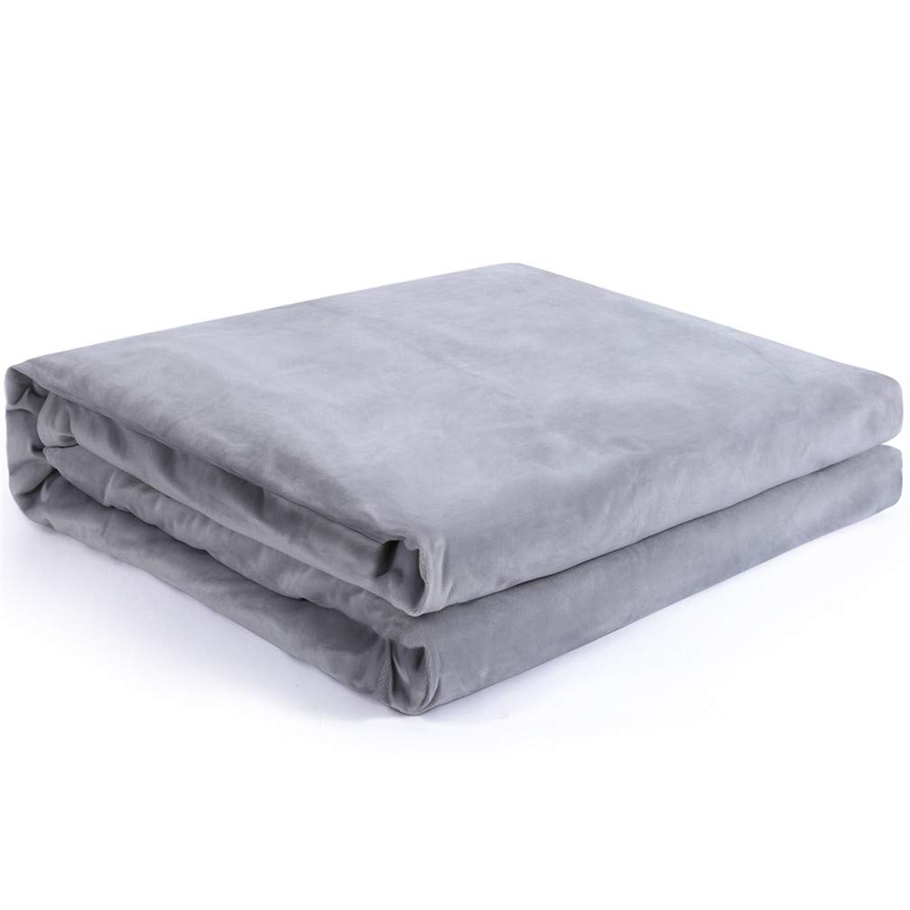 kpblis removable duvet cover for weighted blanket 40 x60 just cover grey 696578274136 ebay. Black Bedroom Furniture Sets. Home Design Ideas