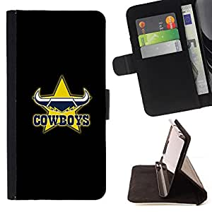 - Cowboys/ Personalizada del estilo del dise???¡¯???¡Ào de la PU Caso de encargo del cuero del tir???¡¯????n del s - Cao - For Samsung Galaxy S5 Mini, SM-