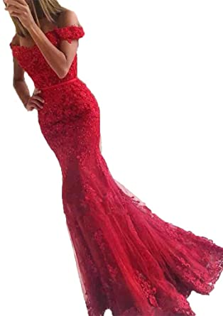 Baijinbai Long Bridesmaid Dresses Wedding Formal Party Prom Dress Evening Ball Gown Red UK06