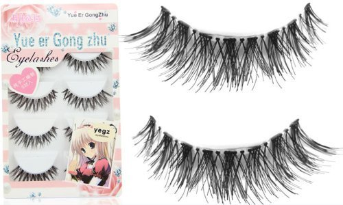 Skyluna¨ New 5 Pair Thick Crisscross Long False Eyelashes