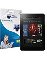 "Kindle Fire HD Screen Protector, Tech Armor High Definition HD-Clear Amazon Kindle Fire HD 8.9"" (2012) Screen Protector [2-Pack]"