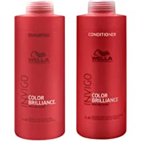 Kit Shampoo e Condicionador Wella Collor Brilliance Invigo