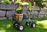 Gorilla Carts GOR400-COM Steel Garden Cart with