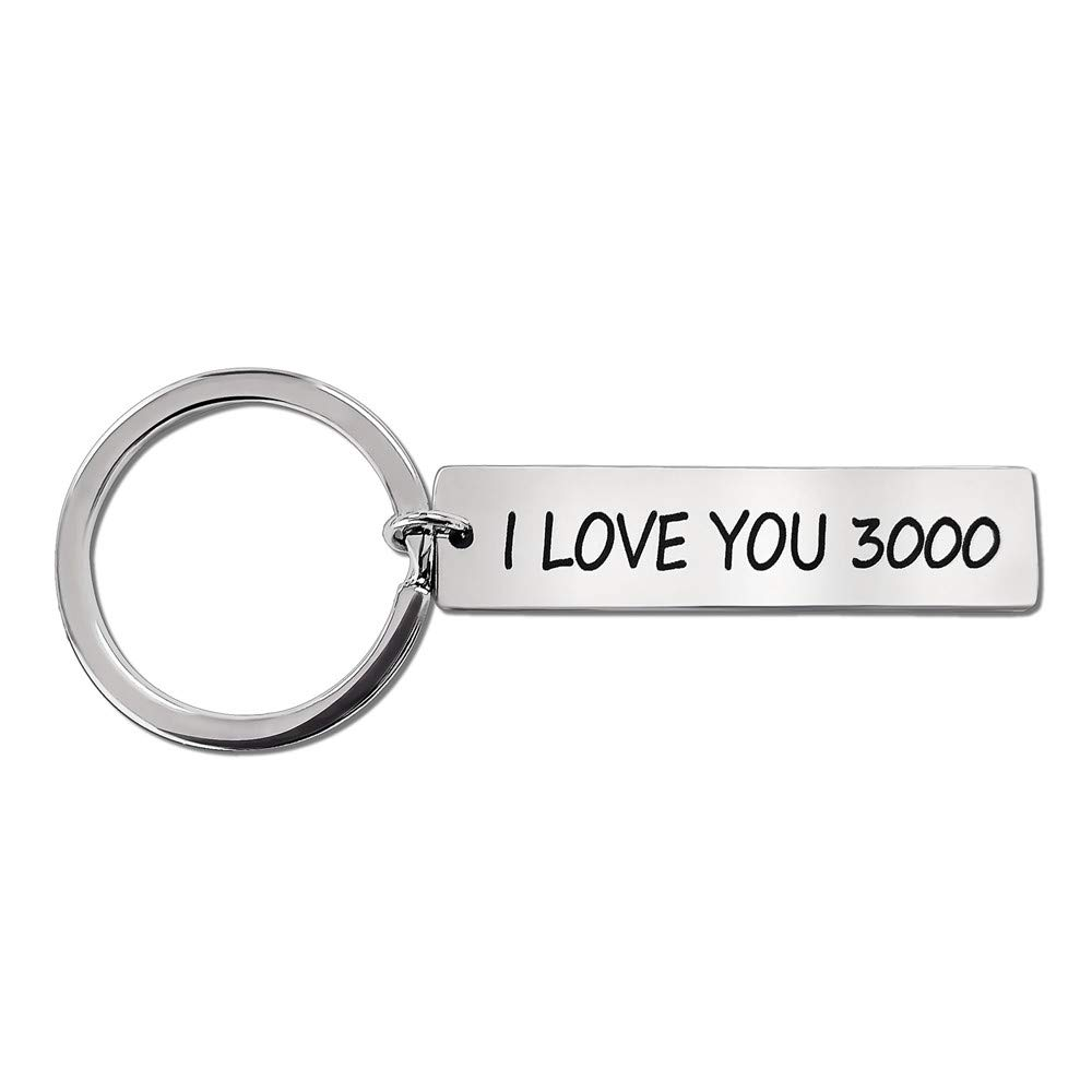 Amazon.com: BENA Key Chain I LOVE YOU 3000 Avengers Iron Man ...
