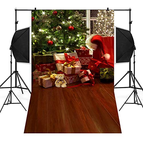 Home Decor,Pandaie Christmas Decorations Clearance Christmas Backdrops Snow Vinyl 3x5FT Background Photography Studio -