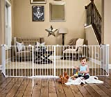 Regalo 192-Inch Super Wide Adjustable Gate and Play Yard, 4-In-1
