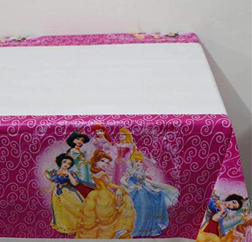 CharmTM Set of 2 Princess Tablecloths Plastic 42
