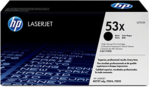HP 53X (Q7553X) Black High Yield Original Toner Cartridge