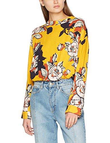 flower Mujer Riot Para Yellow Amarillo Libertine 6 Blusa AUBvtq