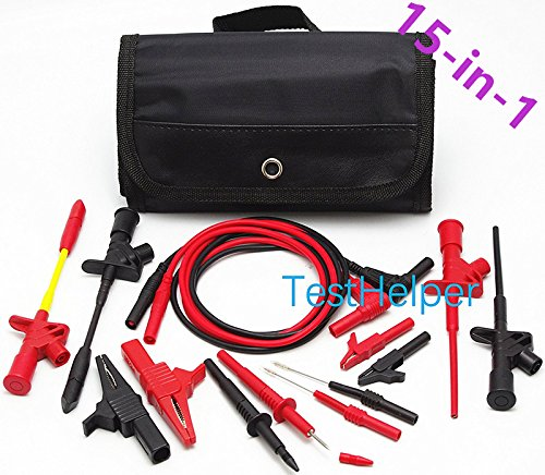 Test Probe Set - TestHelper TH-8-KIT Electronic Specialties Automotive Test Probe Kit,Test Lead Set