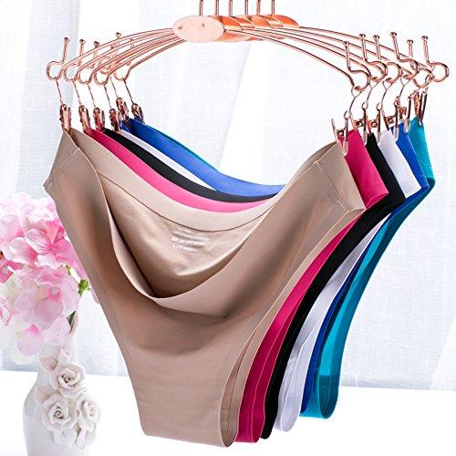 JUNGEN Damen Thongs Panties G-String Unterwäsche Breathable Underpants Set von 3